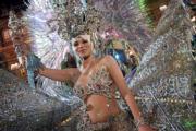 Silvana Medina, reina en Las Palmas vestida por un diseсador tinerfeсo