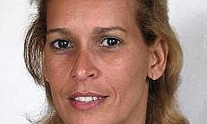 Dania Virgen García, en una imagen de su blog.