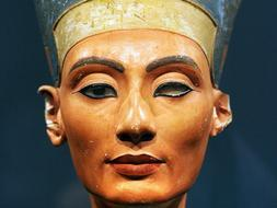 El busto de Nefertiti /AFP