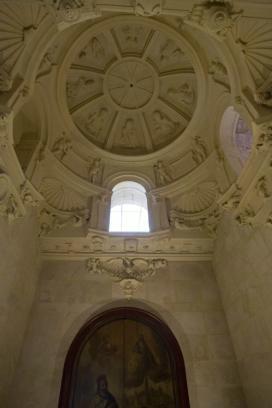 NIEVES SANZ  Cúpula de la escalera, la zona más antigua del Ayuntamiento
