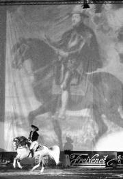 La importancia del caballo en la historia, base del espectáculo del Sicab. PEPE ORTEGA