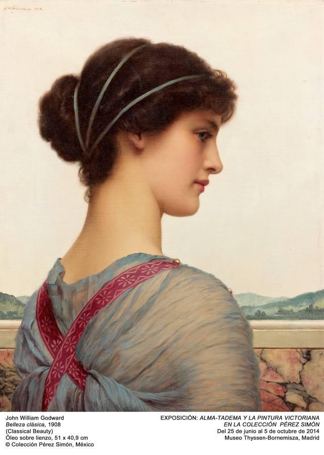 «Belleza clásica», de John William Godward