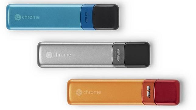 Google y Asus lanzan Chromebit, un pendrive HDMI con Chrome OS