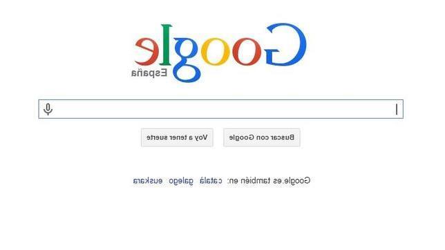 Google se vuelve del revés