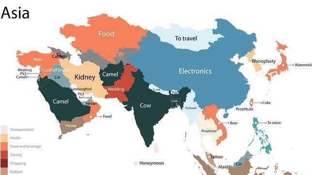 ¿Qué es lo más buscado en Google en cada país?