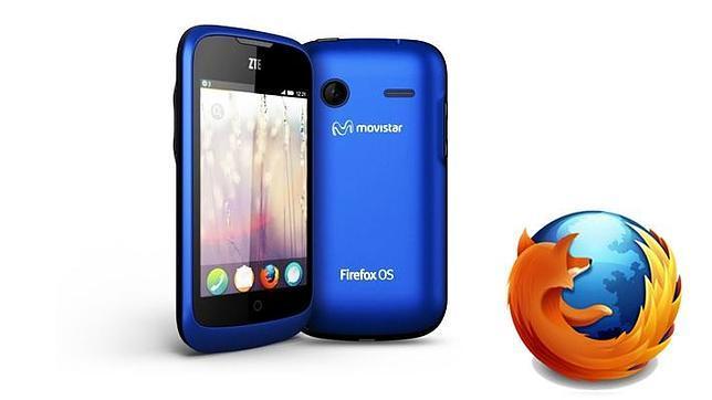 Llega a España el ZTE Open, el primer «smartphone» con Firefox OS