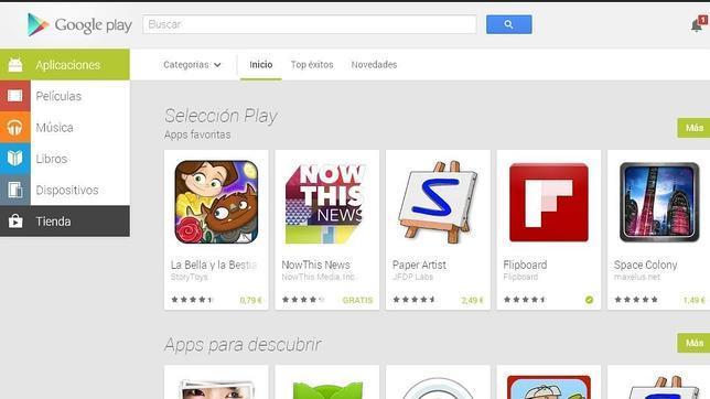 Google Play obtiene más descargas que la App Store