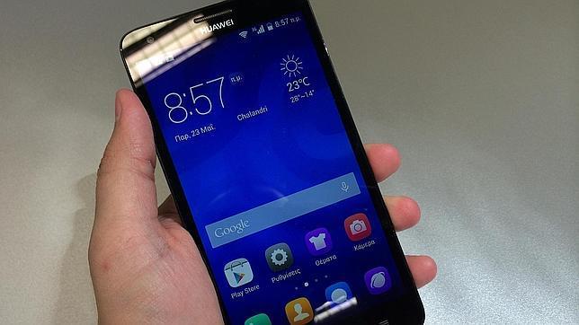 Los «smartphones» chinos pisan fuerte en España