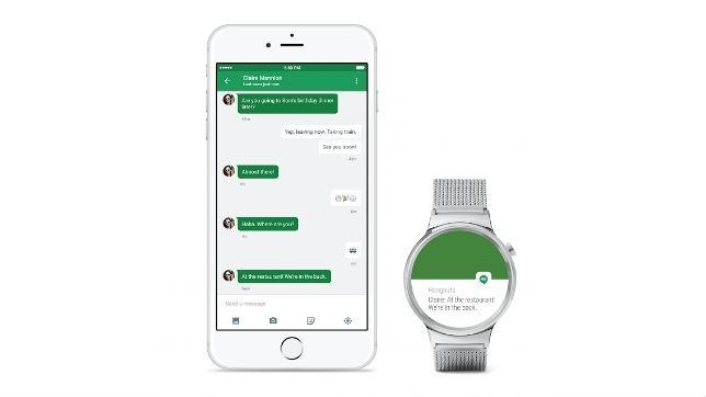 Los «smartwatches» de Android Wear funcionan ya con iPhone
