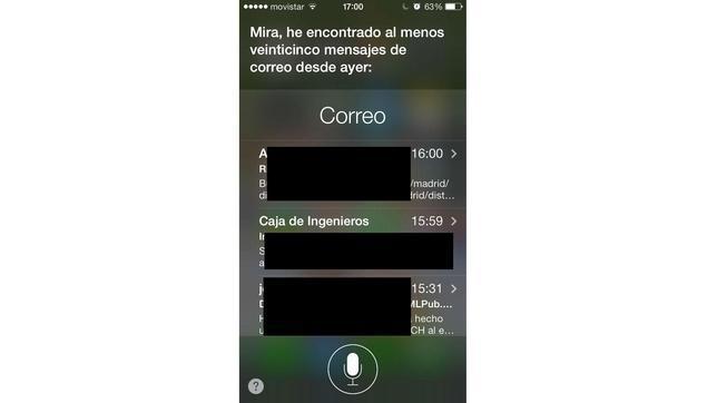 Todos los comandos de Siri en iOS 7