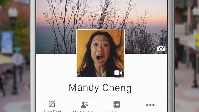 El vídeo llega a Facebook para dar vida a la estática foto de perfil