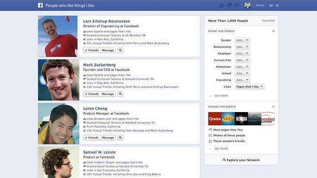Configura tu privacidad en Facebook para no sufrir con el «Graph Search»