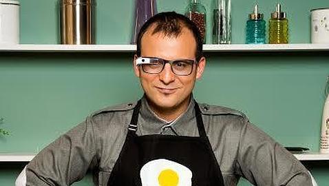 Cuatro grandes chefs estrenan la primera «app» diseñada para las Google Glass