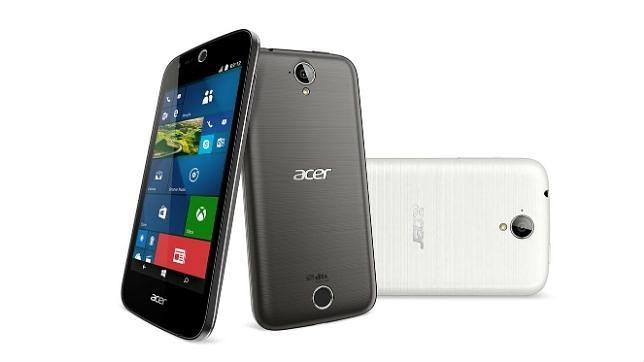 Acer presenta en IFA sus primeros «smartphones» con Windows 10