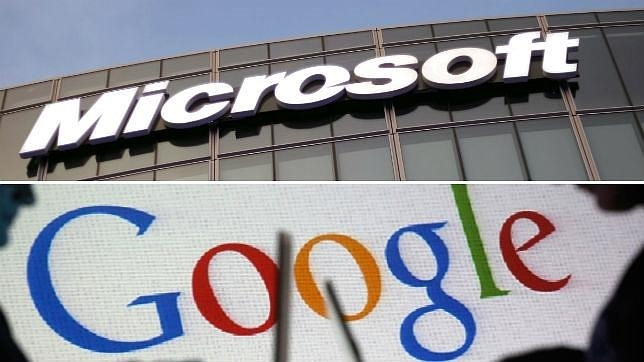 Google y Microsoft sellan la paz en su guerra de patentes