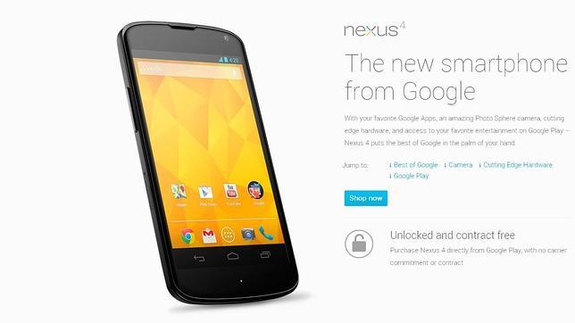 ¿Cuántos Nexus 4 ha fabricado LG?