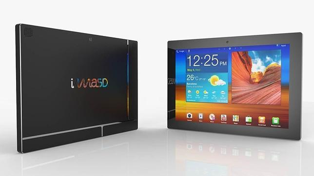 La valenciana imasD se adelanta a Google con la primera tableta modular