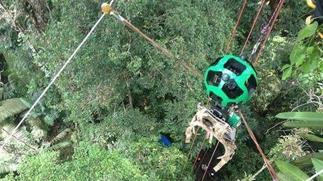 Vídeo: Así se ve la selva amazónica en Google Street View