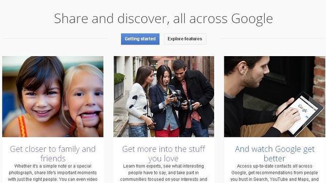 Google+ permite subir fotos a tamaño completo desde ordenadores