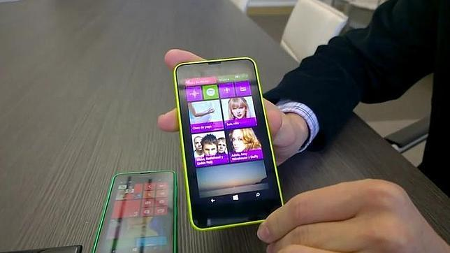 Nokia estrena Windows Phone 8.1 en tres nuevos terminales