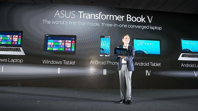 Transformer Book V, el ordenador de Asus que funciona con Windows y Android