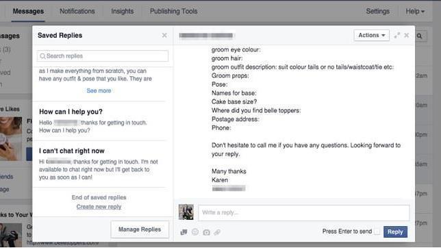 Facebook prueba una herramienta de chat para la empresa orientada a servicio al cliente