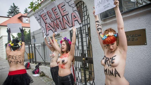 Femen pide a Zuckerberg que restaure su página principal en Facebook tras el cierre