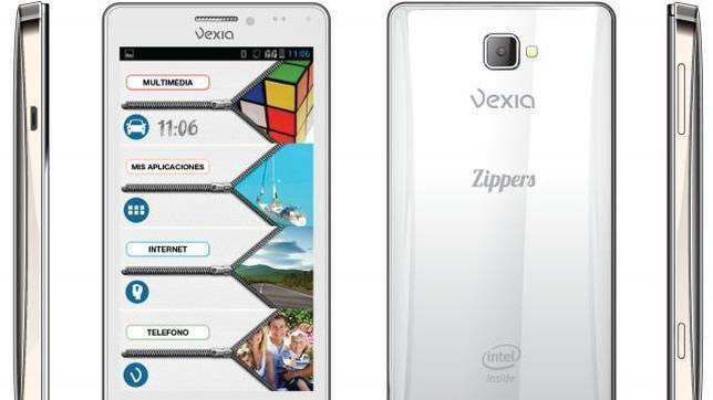 Vexia lanza su «smartphone» Zippers Phone que permite Dual SIM