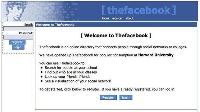 La evolución de Facebook a través de sus rediseños