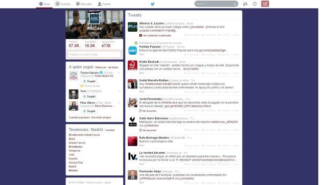 El nuevo diseño de Twitter: minimalista y con mayor importancia a las métricas