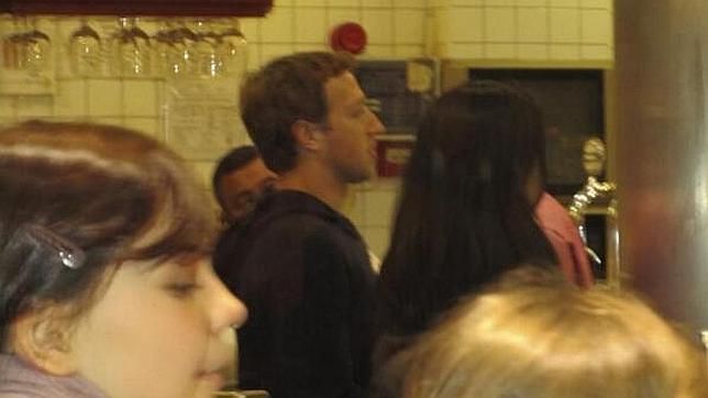 Mark Zuckerberg y su apacible visita en Madrid