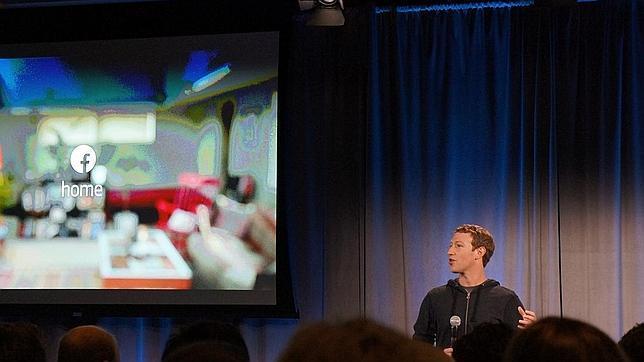 Facebook presenta Home, una nueva «app» de inicio para móviles Android