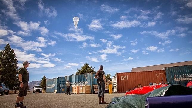 Los globos de Wi-Fi de Google dan la vuelta al mundo en 22 días