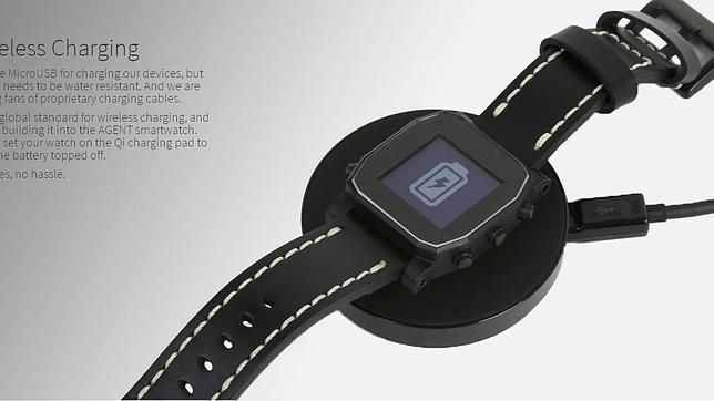 Agent, un nuevo «smartwatch» de una duración sin precedentes