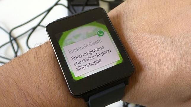 WhatsApp se meterá en la muñeca con una versión para Android Wear