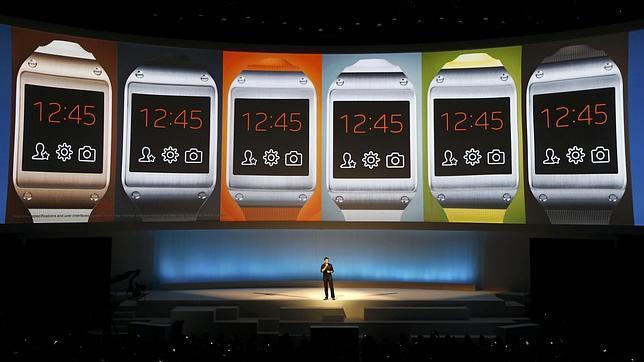 Samsung hace oficial al Galaxy Gear, un reloj para controlarlos a todos
