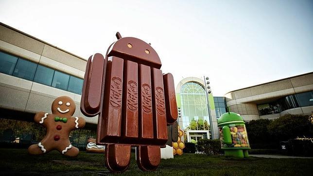 Android KitKat, un acuerdo muy goloso