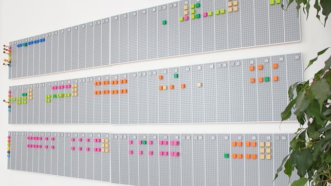 Un calendario de LEGO que se sincroniza con su cuenta de Google Calendar
