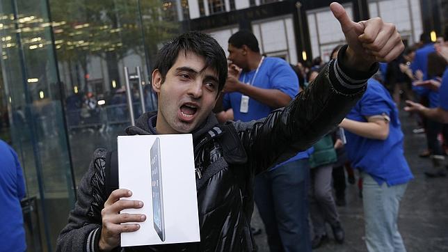 El iPad Air ya es cinco veces más popular que el iPad 4