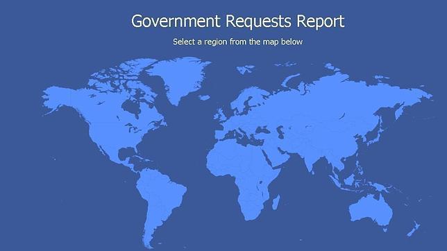 Facebook señala que cada año los gobiernos solicitan más datos de usuarios