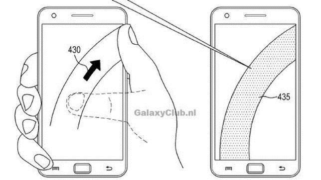 El intento de Samsung de crear un sistema para controlar el «smartphone» con una mano