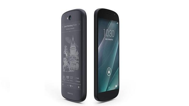 Yotaphone 2, el móvil con la pantalla «always on», llega a España