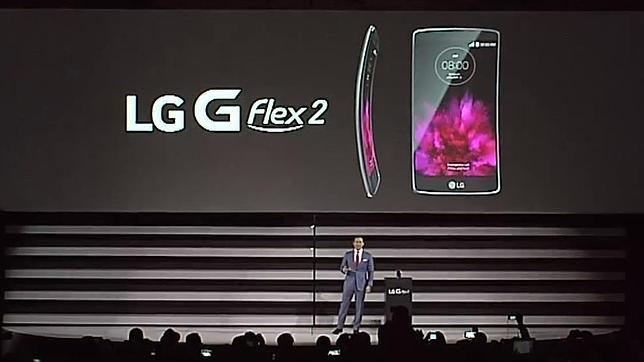 LG insiste en la pantalla curvada con el nuevo «smartphone» G Flex 2