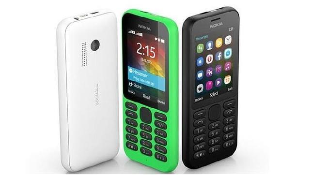 Microsoft anuncia el teléfono Nokia 215 por solo 29 dólares