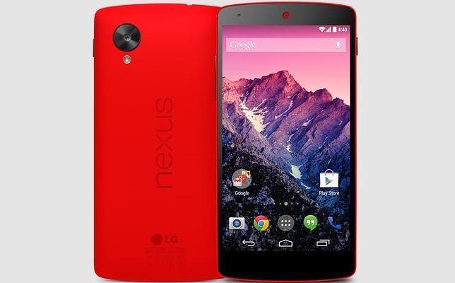 Sale al mercado una versión de Nexus 5 en rojo