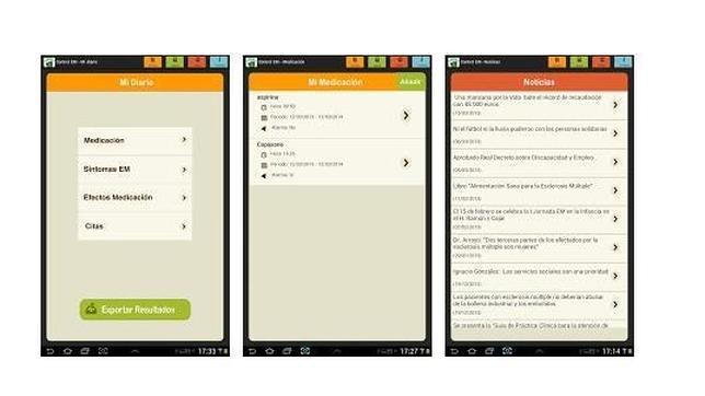 «Control EM», una aplicación para pacientes con esclerosis múltiple