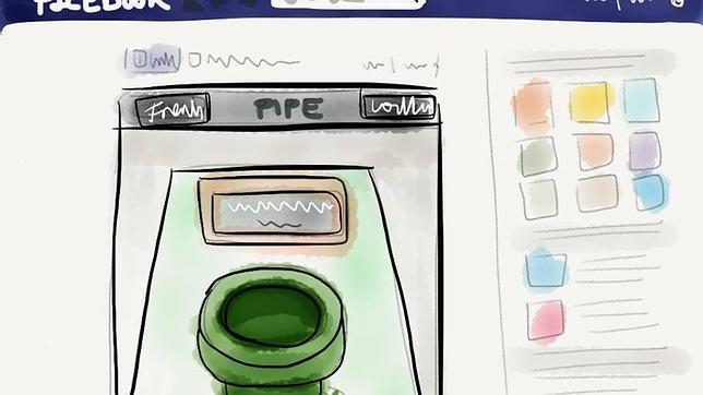 Pipe, la app para enviar archivos por Facebook «como por arte de magia»