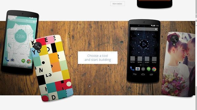 Google Workshop: la tienda para personalizar el Nexus 5
