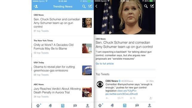 Twitter ultima una nueva pestaña «News» para simplificar el acceso a la información