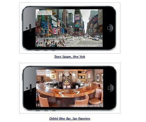 Google lanza Street View para el móvil